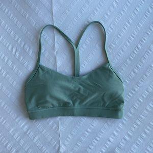 Lululemon Green Y Flow Bra - Size 6